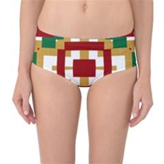 Marita Ingelin Mid-Waist Bikini Bottoms