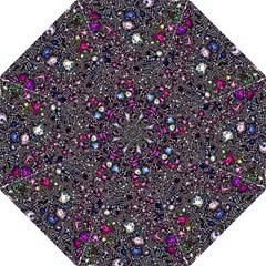Sci Fi Fantasy Cosmos Pink Folding Umbrellas