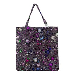 Sci Fi Fantasy Cosmos Pink Grocery Tote Bags
