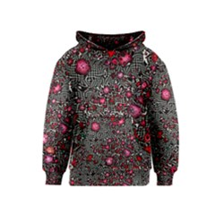 Sci Fi Fantasy Cosmos Red  Kid s Pullover Hoodies