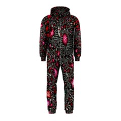 Sci Fi Fantasy Cosmos Red  Hooded Jumpsuit (kids)