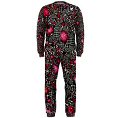 Sci Fi Fantasy Cosmos Red  OnePiece Jumpsuit (Men)