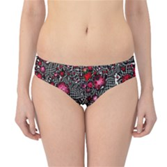 Sci Fi Fantasy Cosmos Red  Hipster Bikini Bottoms