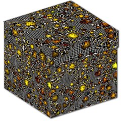 Sci Fi Fantasy Cosmos Yellow Storage Stool 12