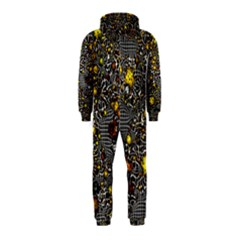 Sci Fi Fantasy Cosmos Yellow Hooded Jumpsuit (kids)