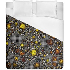 Sci Fi Fantasy Cosmos Yellow Duvet Cover Single Side (double Size)
