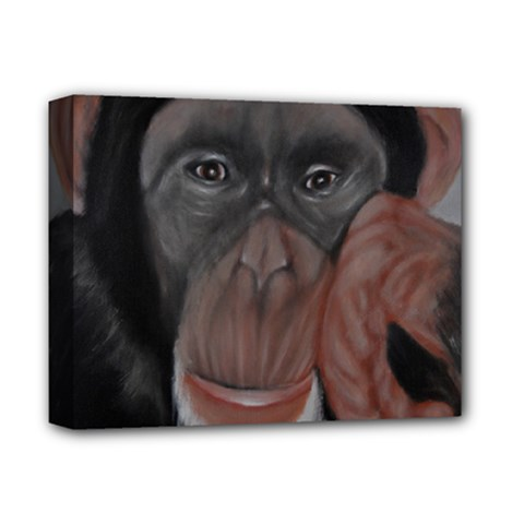 The Thinker Deluxe Canvas 14  x 11