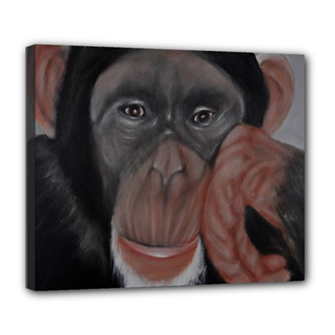 The Thinker Deluxe Canvas 24  x 20