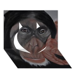 The Thinker Heart 3D Greeting Card (7x5)