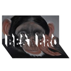 The Thinker BEST BRO 3D Greeting Card (8x4)