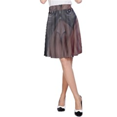 The Thinker A-Line Skirts