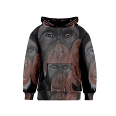 The Thinker Kid s Pullover Hoodies