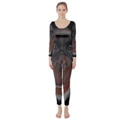 The Thinker Long Sleeve Catsuit