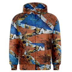 Triangles Men s Zipper Hoodies