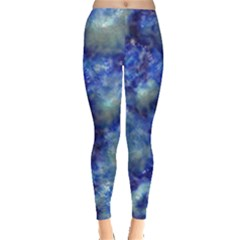Alien Dna Blue Women s Leggings