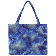Alien DNA Blue Tiny Tote Bags