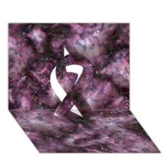 Alien Dna Purple Ribbon 3d Greeting Card (7x5)
