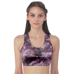 Alien Dna Purple Sports Bra