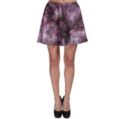 Alien Dna Purple Skater Skirts