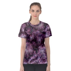 Alien Dna Purple Women s Sport Mesh Tees