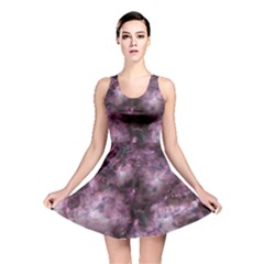 Alien Dna Purple Reversible Skater Dresses