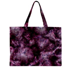 Alien Dna Purple Zipper Tiny Tote Bags