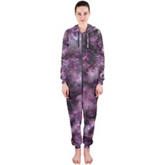 Alien Dna Purple Hooded Jumpsuit (Ladies)
