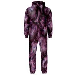 Alien Dna Purple Hooded Jumpsuit (Men)
