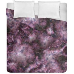 Alien Dna Purple Duvet Cover (double Size)