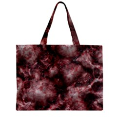 Alien Dna Red Zipper Tiny Tote Bags