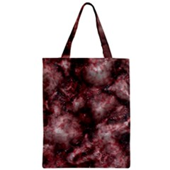 Alien DNA Red Zipper Classic Tote Bags