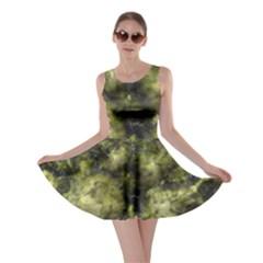 Alien DNA green Skater Dresses