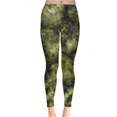 Alien DNA green Women s Leggings