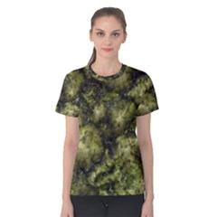 Alien DNA green Women s Cotton Tees