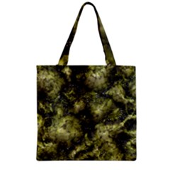 Alien DNA green Grocery Tote Bags
