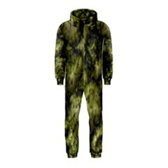 Alien DNA green Hooded Jumpsuit (Kids)