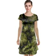 Alien Dna Green Cap Sleeve Nightdresses