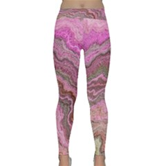 Keep Calm Pink Yoga Leggings