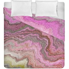 Keep Calm Pink Duvet Cover (king Size)