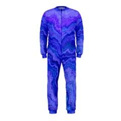 Keep Calm Blue OnePiece Jumpsuit (Kids)