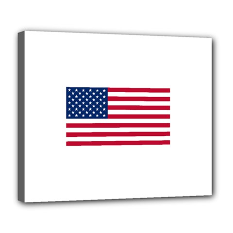 Usa1 Deluxe Canvas 24  x 20