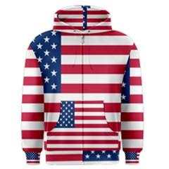 Usa1 Men s Zipper Hoodies