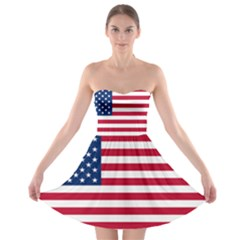 Usa1 Strapless Bra Top Dress
