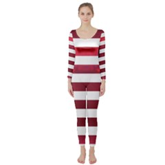 Usa2 Long Sleeve Catsuit