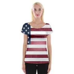Usa3 Women s Cap Sleeve Top