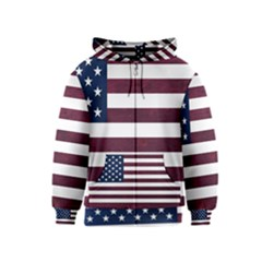 Usa4 Kids Zipper Hoodies