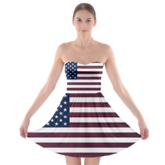 Usa4 Strapless Bra Top Dress