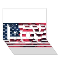 Usa5 Boy 3d Greeting Card (7x5)