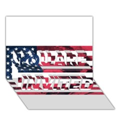 Usa5 YOU ARE INVITED 3D Greeting Card (7x5)