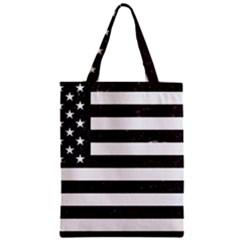 Usa6 Zipper Classic Tote Bags